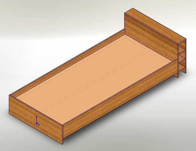 Кровать своими руками чертежи