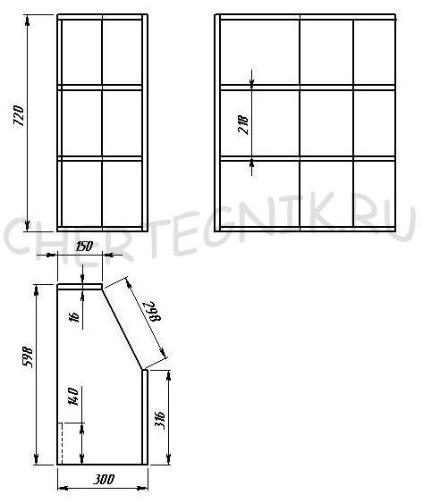 Кухни своими руками чертежи с размерами фото 587