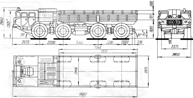 МАЗ-5337 МАЗ-5337 Схема