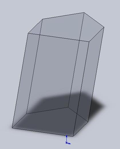 Призма-многоугольники равные у основания.  Параллелограмы-грани боковые.