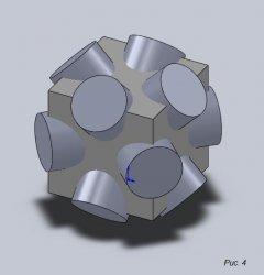 Чертеж куба формула расчета геометрических величин