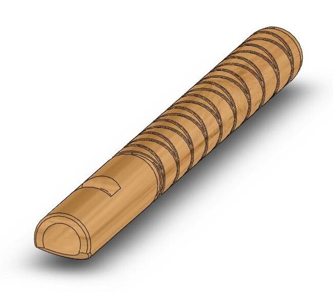 Как из дерева сделать свисток из 381