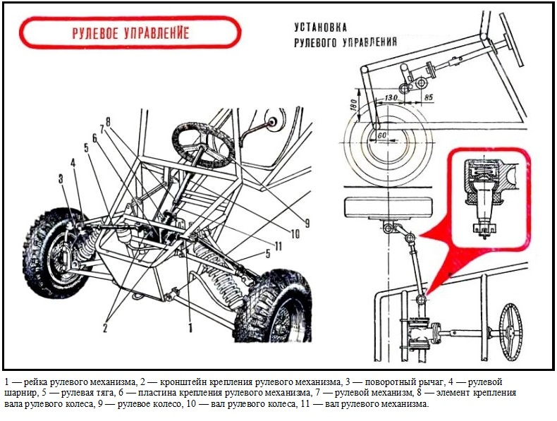 Двигатель для багги своими руками чертежи