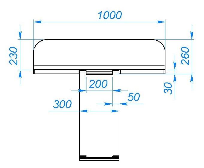 Складной столик на балкон своими руками чертежи 81