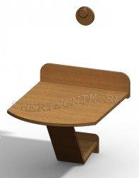 Откидной стол своими руками, чертежи и описание конструкции