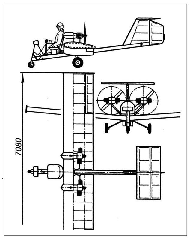 Чертежи самодельного самолета