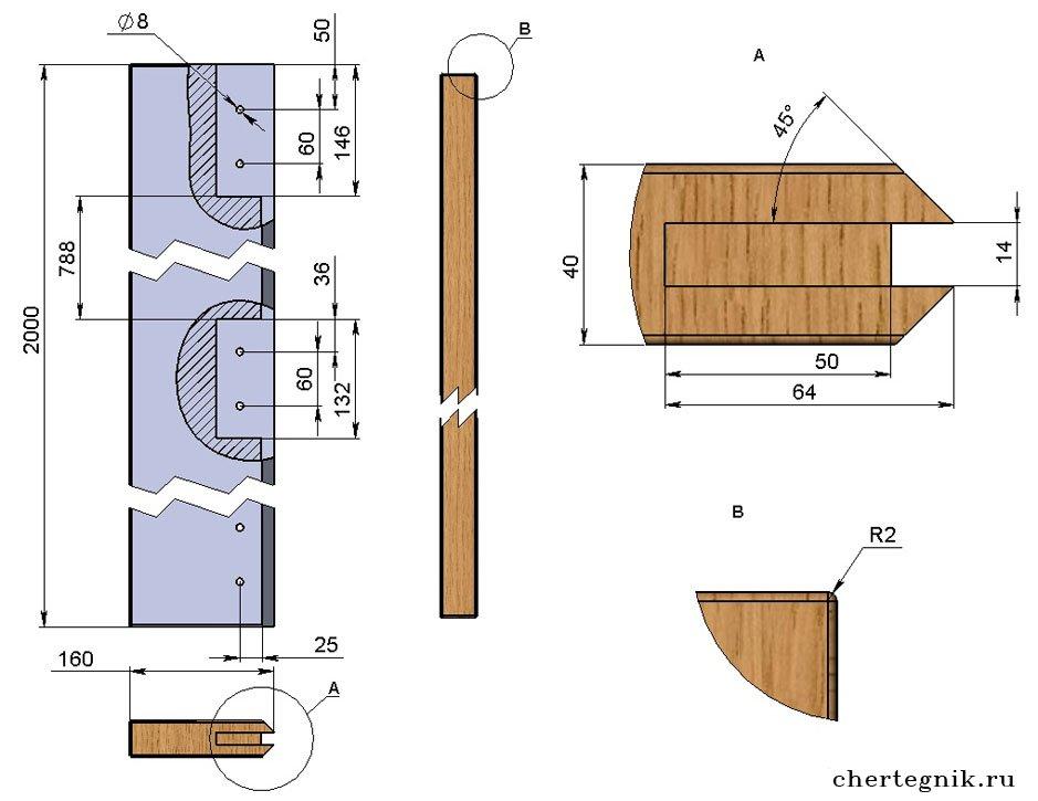 Деревянная дверь своими руками схема 56