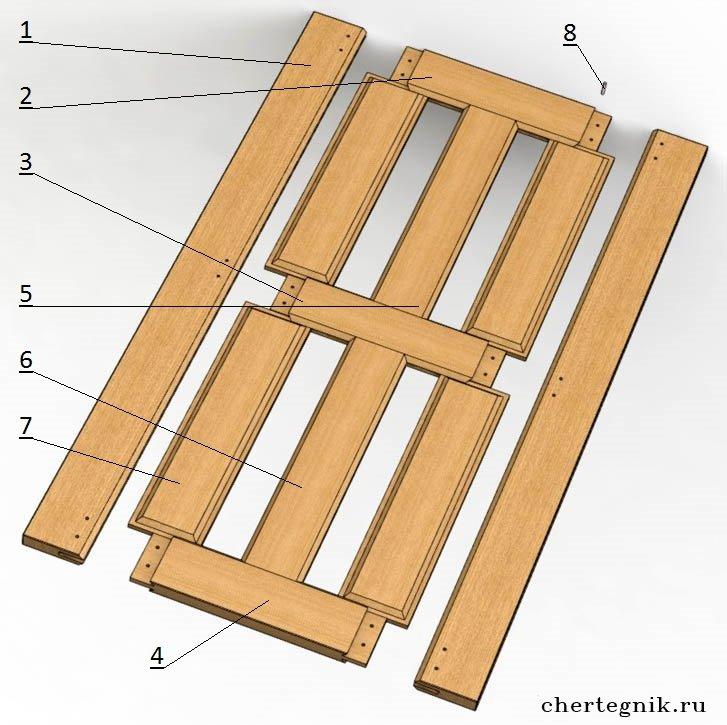 Как делать из досок двери своими руками 12