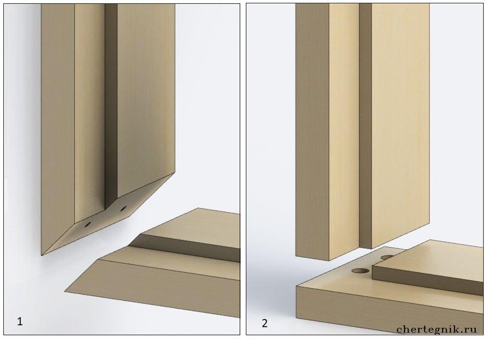 Коробка для двери своими руками из дерева 71