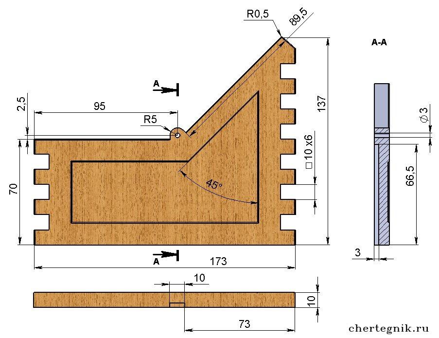 Схема шкатулки из дерева своими руками 51