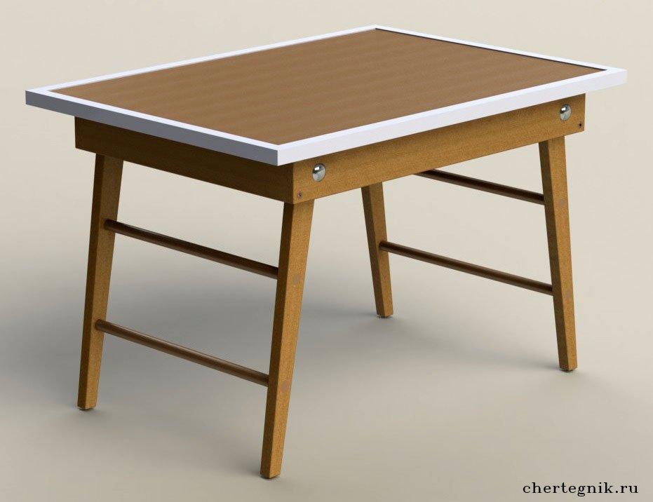 Складной теннисный стол своими руками 133
