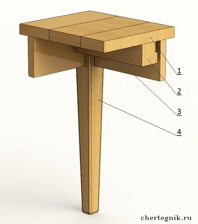 Мебельный брусок сухой строганный спрос - fed7
