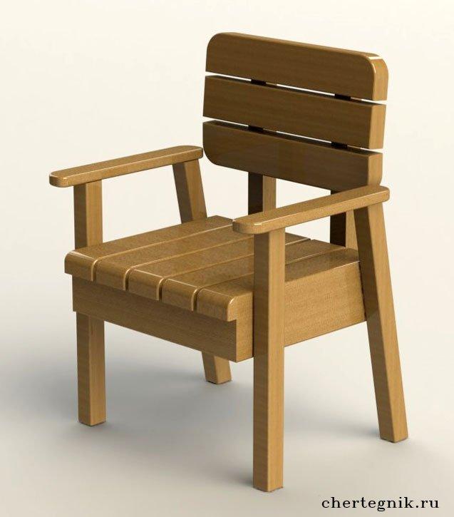 Кресло для бани своими руками чертежи