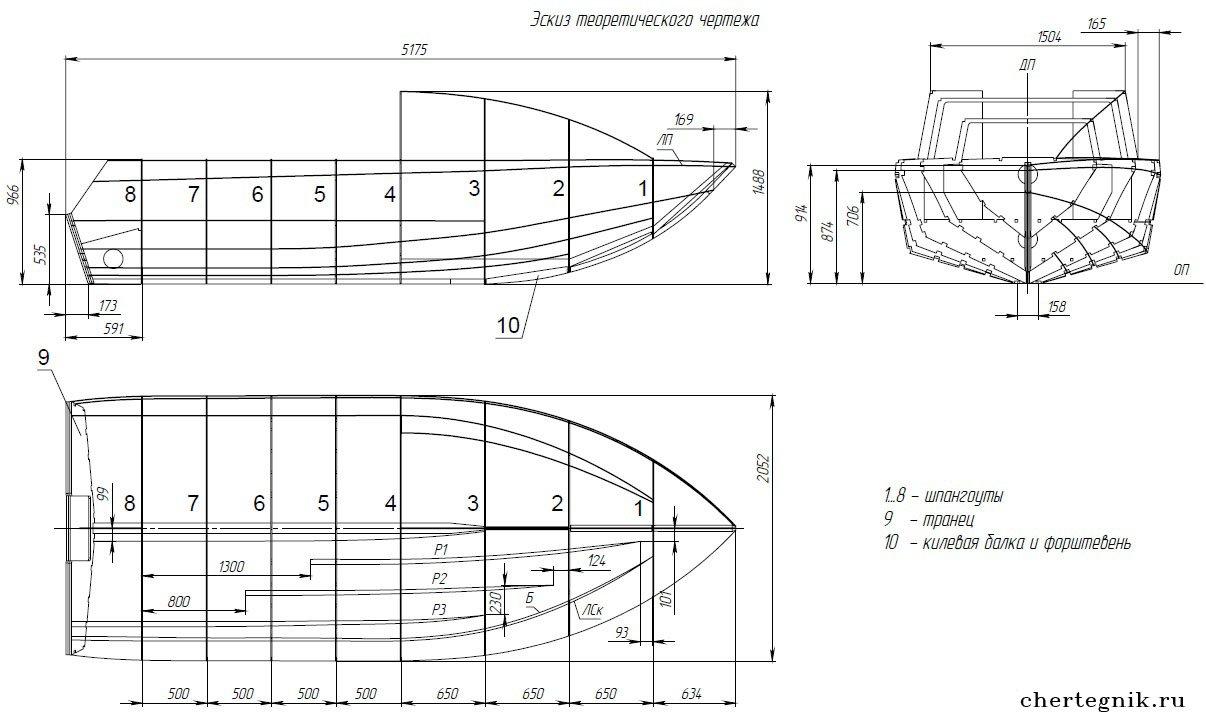 Как сделать корпус катера своими руками 1