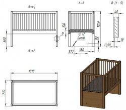 Механизм для детской кроватки своими руками фото 451