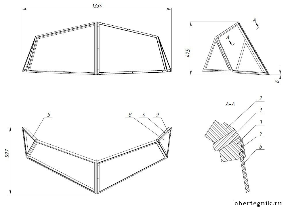 Изготовление лобового стекла на лодку своими руками